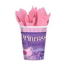 8 Disney Sofia the First Princess Birthday Party Supplies 9oz Paper Cups