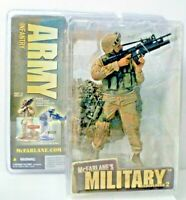 McFarlane's Military Action Figure Redeployed 2 Army Infantry Factory Sealed