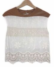 Cotton Blend Boho Floral Tops & Blouses for Women