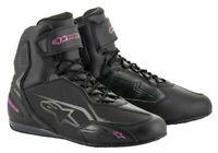 Alpinestars STELLA FASTER 3 Ladies Commuter Riding black/Pink Shoe Boots *SALE*