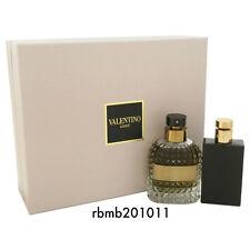 Valentino Uomo For Men 2Pcs Gift Set 3.4oz/100ml EDT + 3.4 oz After Shave
