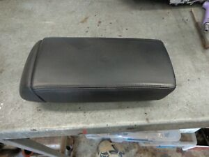 HONDA ACCORD EURO 2003-07  CL 9 CENTER CONSOLE ARM REST COMPARTMENT LEATHER GOO