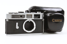 Canon Model 7 Leica Screw Mount Rangefinder Camera w/ Case