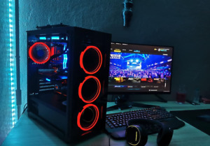 "Powerful gaming computer (27"", i7-9700KF - 3.6Ghz, Zotac RTX 2070 Super AMP 8GB)"