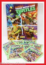 TORTUES NINJA TMNT turtle DISNEY Panini Album + 70 pochettes stickers # NEUF #