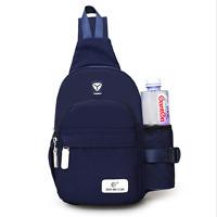 Unisex Chic Nylon Crossbody Shoulder Chest Sport Cycle Sling Bag Travel Backpack