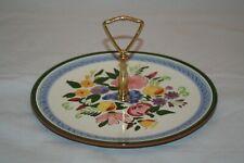 Stangl Pottery Fruit & Flowers Tidbit Plate EUC