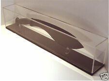 Case Cutlery XX Logo 5 Pack Conjunto de acrílico transparente medio cuchillo soporte de exhibición 9063