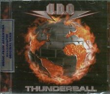 U.D.O. THUNDERBALL SEALED CD NEW 2013  UDO