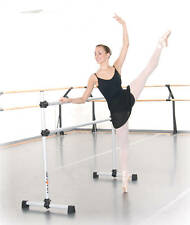 Ballet Barre BD48 Portable 4ft DOUBLE Bar - Stretch/Dance Bar - Vita Vibe NEW