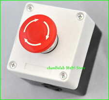 1x Emergency Stop Pushbutton Control Station 660V10A +W B67547