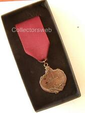 WHITE STAR LINER TITANIC CARPATHIA NAVY BRONZE LIFE SAVING MEDAL IN BOX CASED