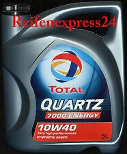 5 Liter TOTAL Quartz Energy  7000 10W-40 Motoröl 10W40 Motorenöl VW A3 / B4