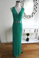 New Boden Maxi Green Beaded Dress Size UK 18L US 14L BEYOU*