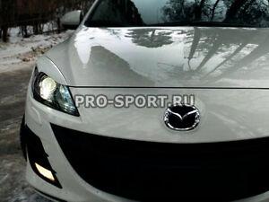 Mazda 3 2009 2010 2011 2012 2013 hatchback eye brow, eyelids, cilia head lights,