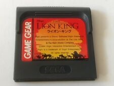 Lion King SEGA GAME GEAR GG Cartridge only tested -A-