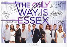 THE ONLY WAY IS ESSEX - TOWIE AUTOGRAPHED SIGNED A4 PP POSTER PHOTO