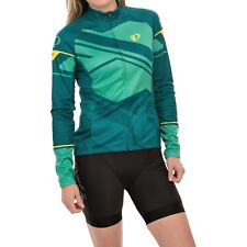 Pearl Izumi Women's Elite Thermal Ltd Jersey, Teal/Mint, Without tags