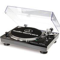 Audio Technica AT-LP 120 USB Plattenspieler Schwarz