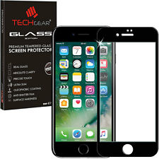 Pink TECHGEAR Tempered Glass Full Coverage Screen Protector for Apple iPhone 7