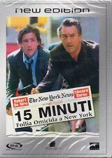 15 MINUTI FOLLIA OMICIDA A NEW YORK - DVD (NUOVO SIGILLATO)