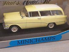 1:43 Paul's Model Art coche modelo Minichamps-Opel Rekord p1 Caravan 1958-1960