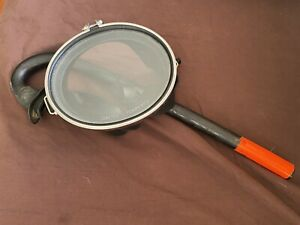Vintage DACOR Scuba Oval Mask With DACOR Glo-Top Snorkel