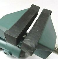 """Rubber Jaws for Swivel Bench Vise Replacement Part for 3"""" Bench Vise Set of 2"""