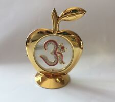 New Indian Swastik,Apple ,glass And Gold Plated MultiColor Dashboards Gifts