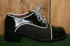 Vintage Murray Street by WILLIAMS Black & White Heeled Creepers Women's Sz. 7D