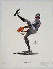 Annie Lee  Bassball Print Wind Up /African American Art Liquidation Sale