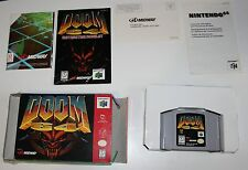 Nintendo N64 Doom 64 in OVP, Inlay und Anleitungen + Poster