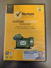 New Norton By Symantec Security Standard Antivirus for One Device