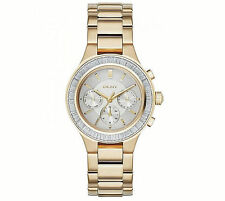 DKNY Women's Gold Tone Chambers  Bracelet Watch 38mm NY2395