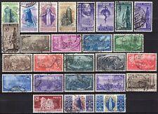 #773 - Repubblica - Lotto di 26 francobolli, 1949 - Usati