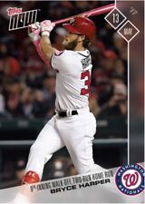 2017 Topps Now #143 WALK-OFF, TWO-RUN HOMERUN IN THE 9TH INNING - BRYCE HARPER