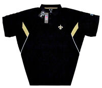 New Orleans Saints NFL Men's Team Conference Stadium Big & Tall Golf Polo Shirt