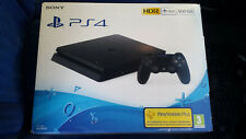 CONSOLE PLAYSTATION 4 PS4 500 GB JET BLACK NERA SIGILLATA NUOVA ITALIANA SONY