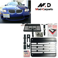 Front Bumper Tow Hook License Plate Mount Relocation Kit For BMW 1 3 5 X5 X6 E90