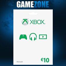 Xbox Live €10 Karte - 10 Euro Microsoft Guthaben - Xbox One / Xbox 360 Code Card