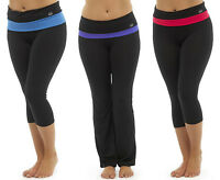 Womens Yoga Exercise Pants Ladies Gym Pilates Fitness Jogging Bottoms