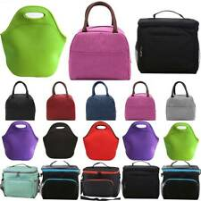 Insulated Lunch Bags Coolbag School Picnic Unisex Thermal Food Storage Lunchbox