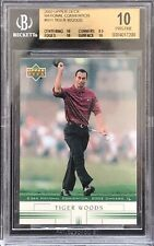 Tiger Woods 2002 Upper Deck National Convention Rookie BGS 10 eBay 1/1