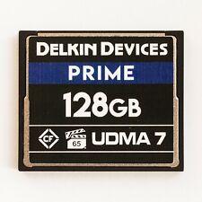 Delkin Devices PRIME 128GB Compact Flash CF UDMA7 UDMA 7