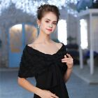 Cape Ladies Cover Up Shawl Lovely Outwear Wraps Bolero For Wedding Formal Party
