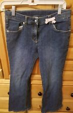 GYMBOREE GIRLS BLUE JEANS. SIZE 12 PLUS, PREOWNED, AWESOME CONDITION.