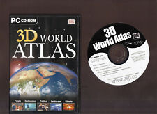 3D WORLD ATLAS. GEOGRAPHY SOFTWARE FOR THE PC!!