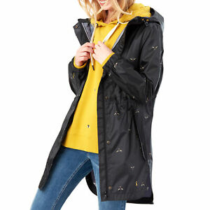 Joules Golightly Womens Jacket Coat - True Black All Sizes