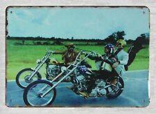 biker motorcycle tin metal sign home accessories office restaurant