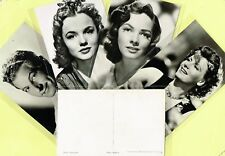 1950s Film Star Postcards issued in Holland (Ref: ANON13b)
